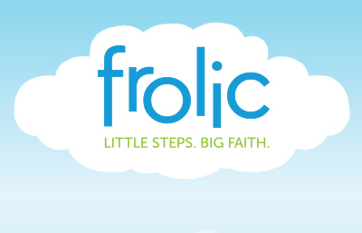 "Introducing ""Frolic"" our new Dyne-O-mites Nursery Program!Frolic will help your children learn more about God in ways they understand!"
